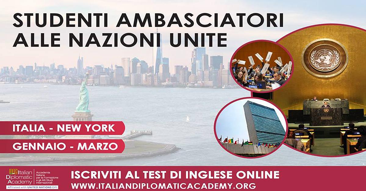 CORSO: STUDENTI AMBASCIATORI ALLE NAZIONI UNITE
